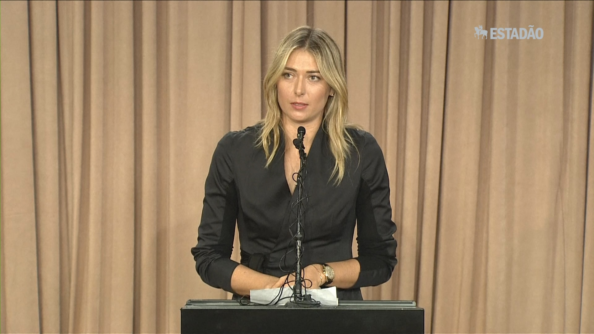 Sharapova revela doping