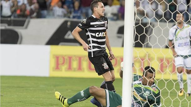 Corinthians venceu o Luverdense por 2 a 0, no primeiro jogo da Copa do Brasil