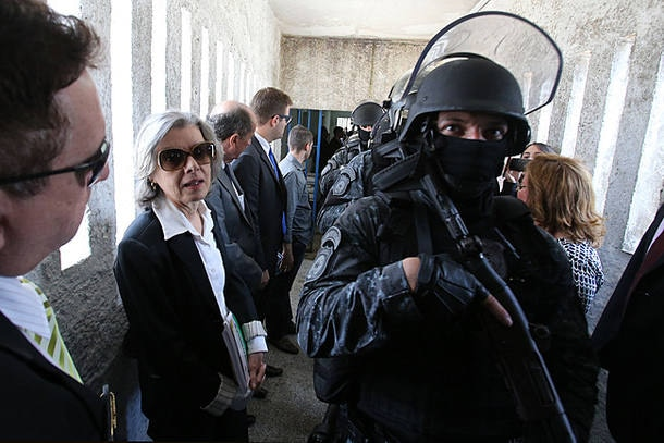 Ministra Cármen Lúcia inicia