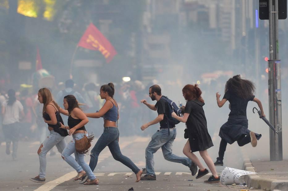 AFP PHOTO / NELSON ALMEIDA