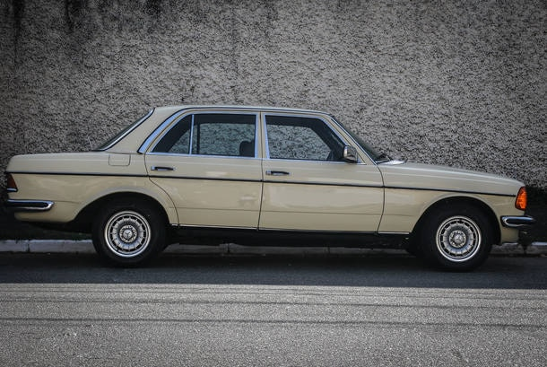 Carro do Leitor: Mercedes-Benz 280 1980
