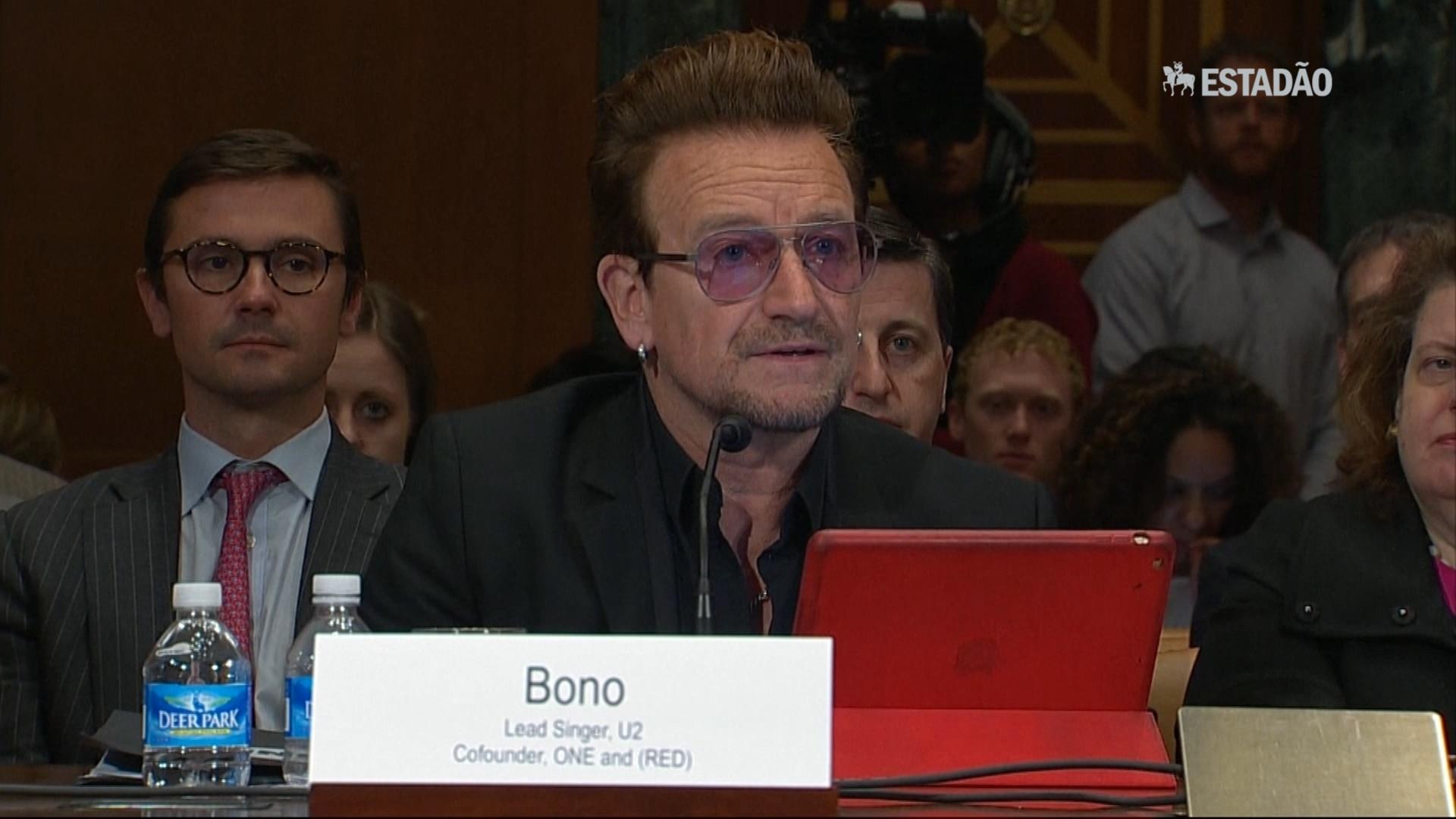 Em discurso nos EUA, Bono fala sobre combate ao extremismo violento