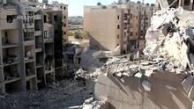 Milhares de civis fogem de Aleppo