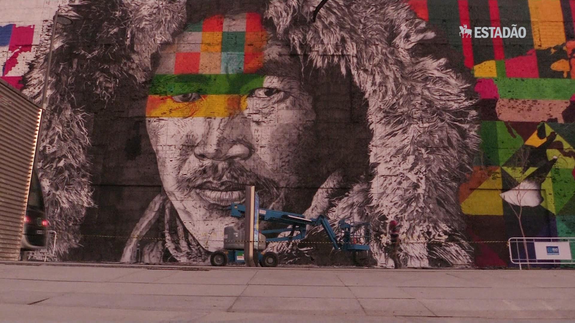 Rio ganha mural pela união dos povos