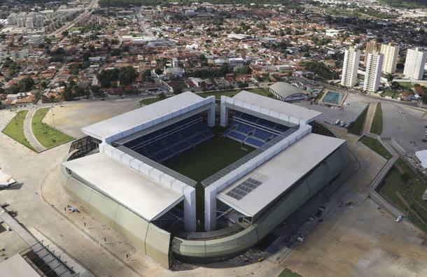 Arena Pantanal vai trocar atletas por estudantes