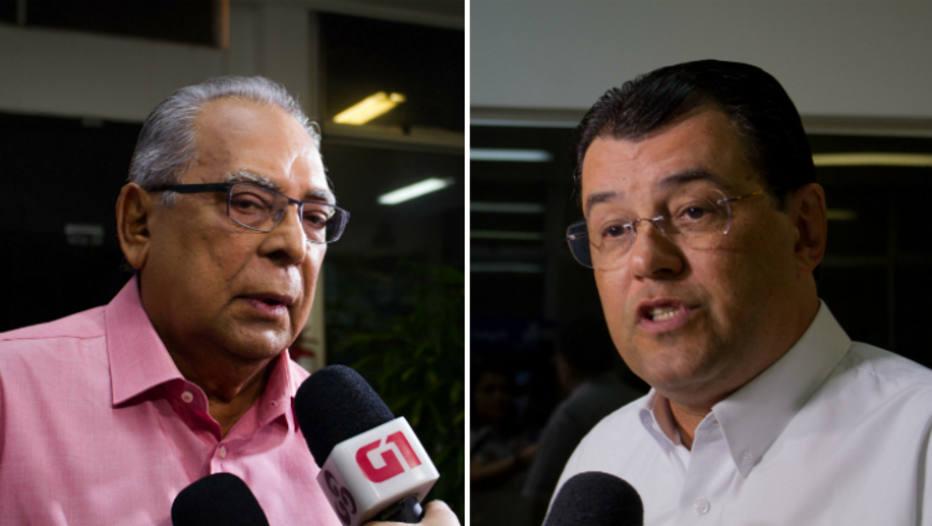 Amazonino e Eduardo Braga