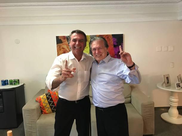 Bolsonaro e Bivar, do PSL