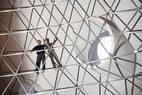 Domo sob a Oca.14 metros de diâmetro por 9,18 de altura: é o tamanho da bichana que estará no museu, em SP