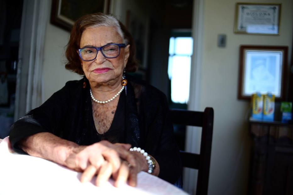 Aposentada Maria Augusta dos Santos
