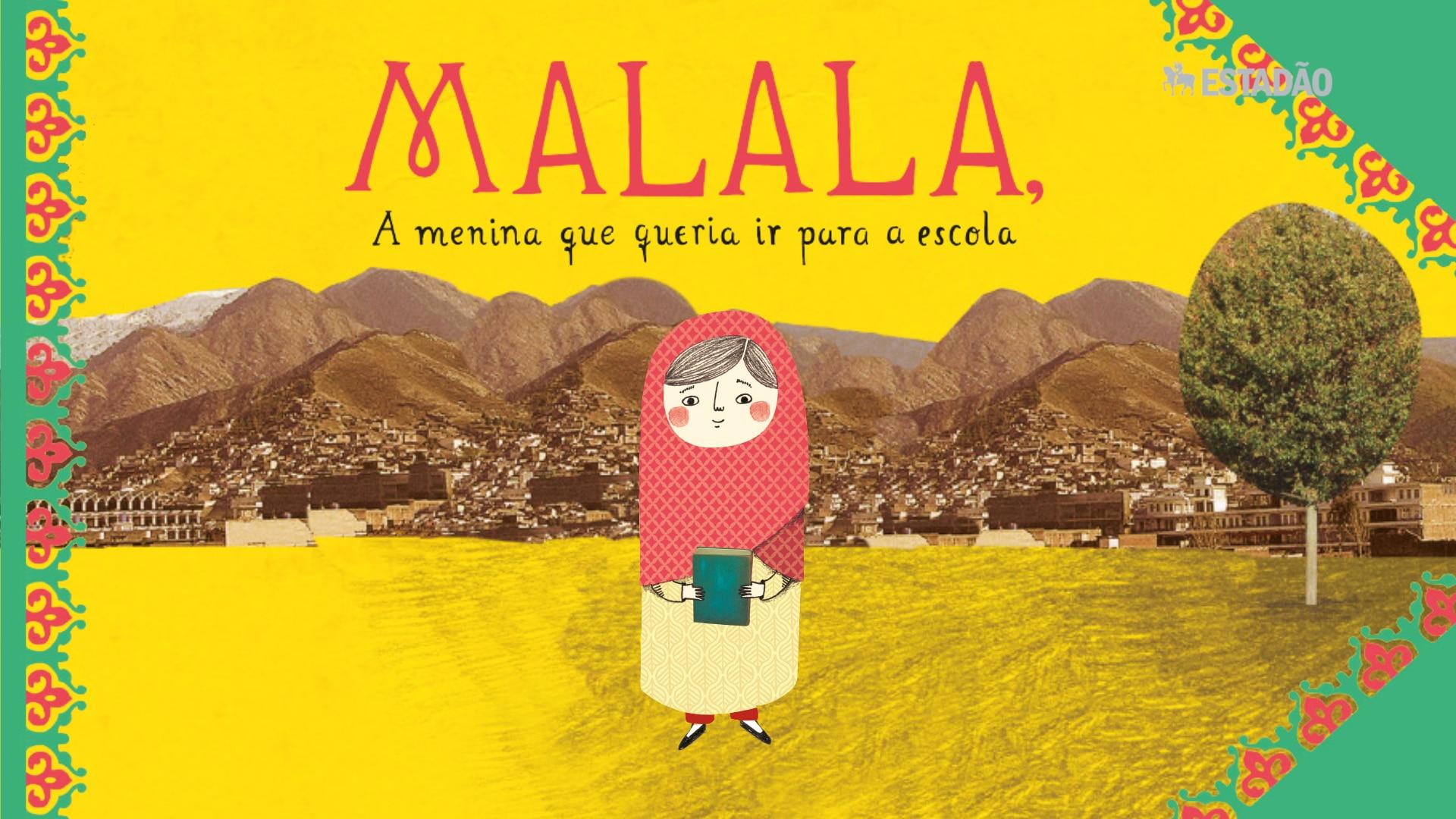 História de Malala vira livro infantil