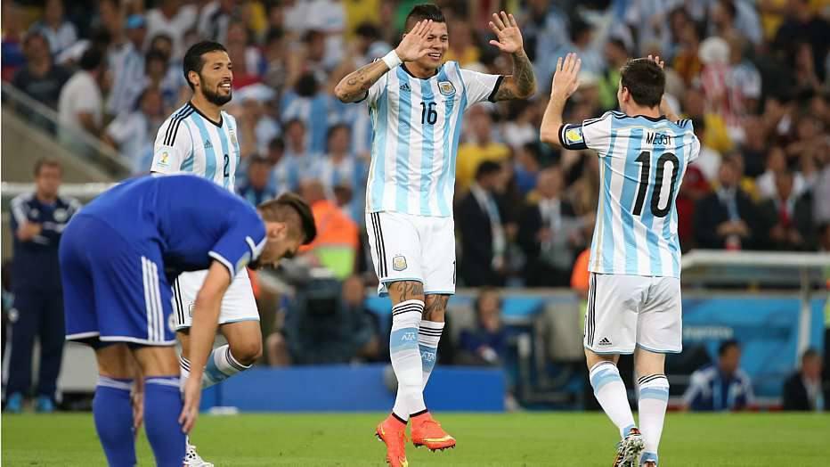 Resultado: golaço de Messi, o segundo dele em Copas do Mundo.