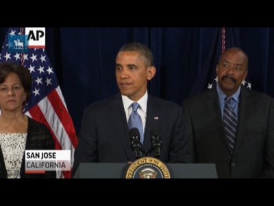 """""""Não se pode ter 100% de segurança e 100% de privacidade"""", diz Obama"""