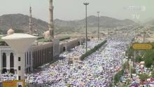 Milhões de muçulmanos fazem peregrinação