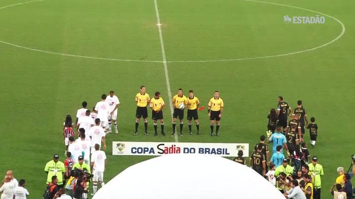 São Paulo empata com Vasco por 1 a 1