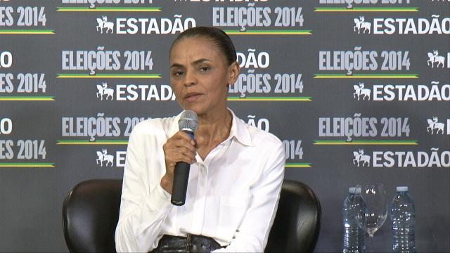 """""""Houve um erro de processo"""" diz Marina em relação ao programa LGBT de seu governo"""