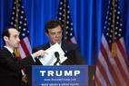 Paul Manafort organiza comício de Trump em junho de 2016, quando era diretor da campanha republicana; documentos obtidos por agência indicam que ele manteve contrato com bilionário russo de 2005 a 2009