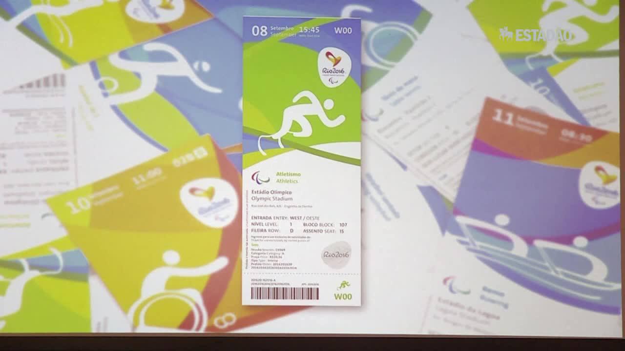 Comitê Rio 2016 revela ingressos das olimpíadas