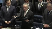 Michel Temer assume a Presidência da República