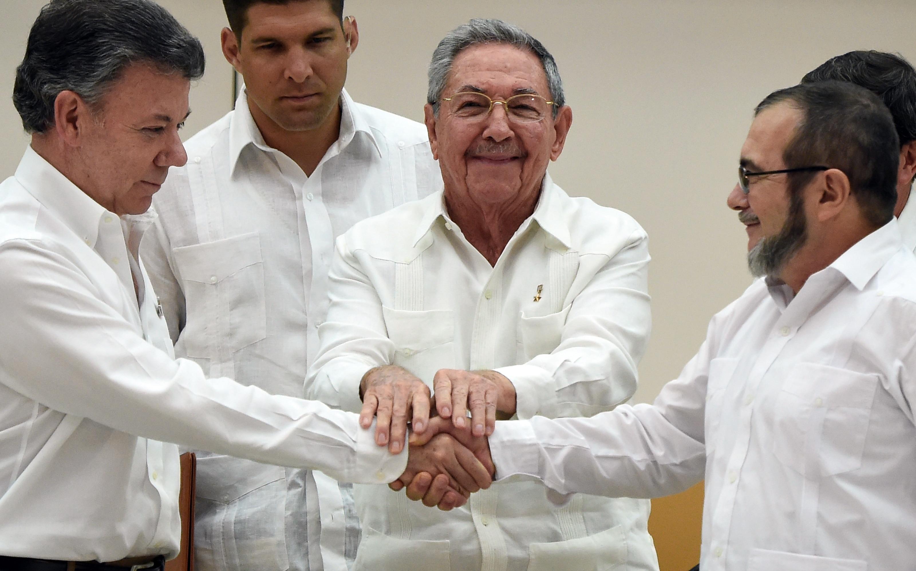 Paz entre Colômbia e FARC
