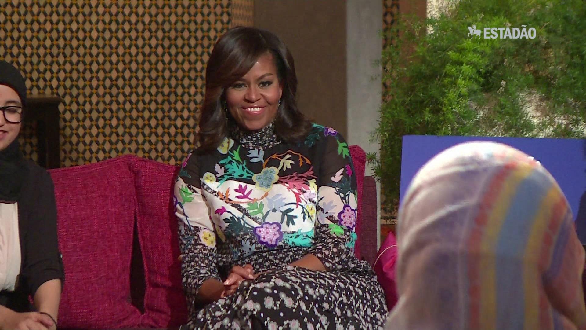Michelle Obama lança fundo para meninas