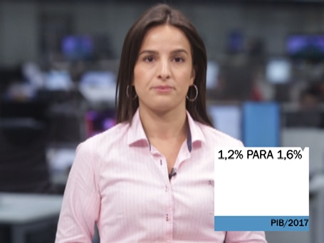 Top News: PIB de 2017 é revisado de 1,2% para 1,6%