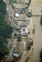 Tufão Lionrock causa enchentes e mortes no Japão