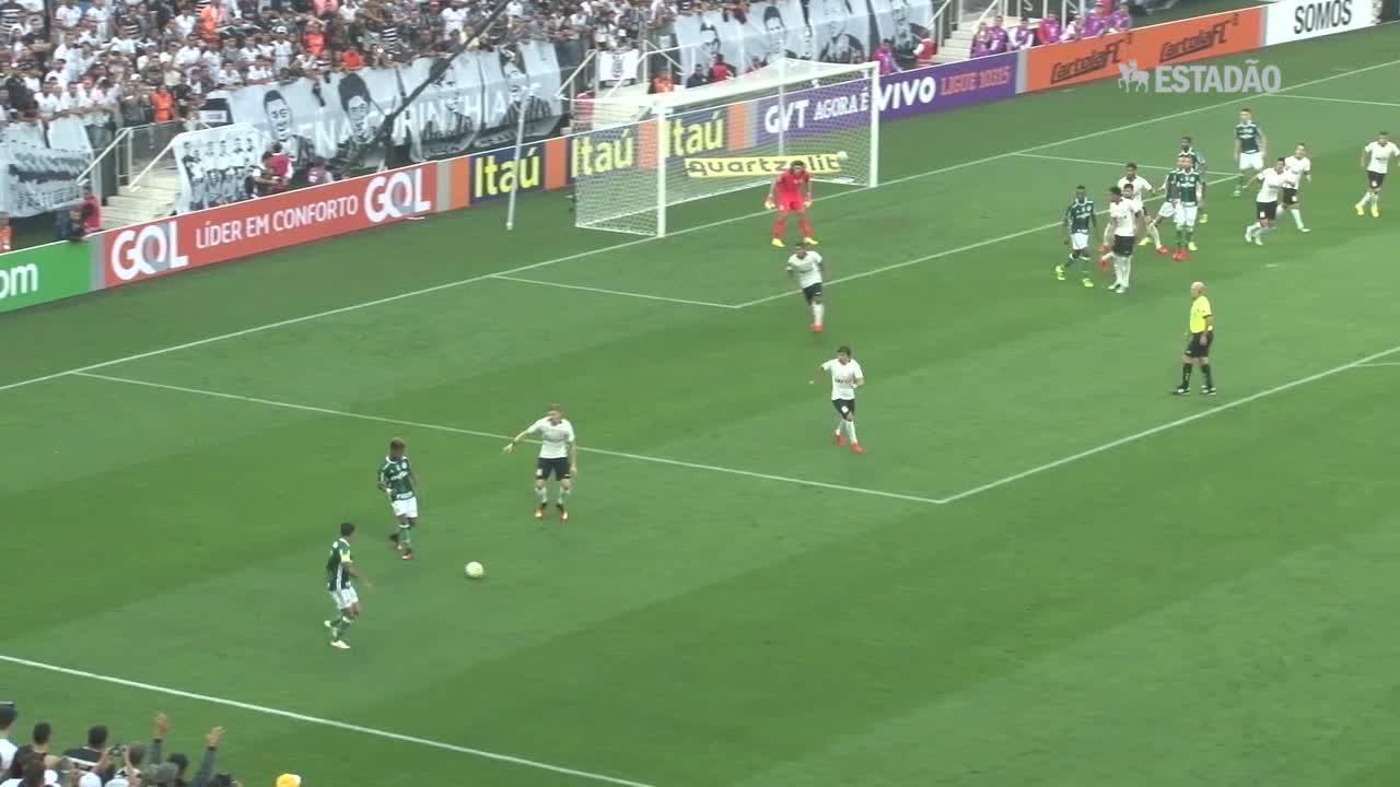 Palmeiras bate o Corinthians no Itaquerão por 2 a 0