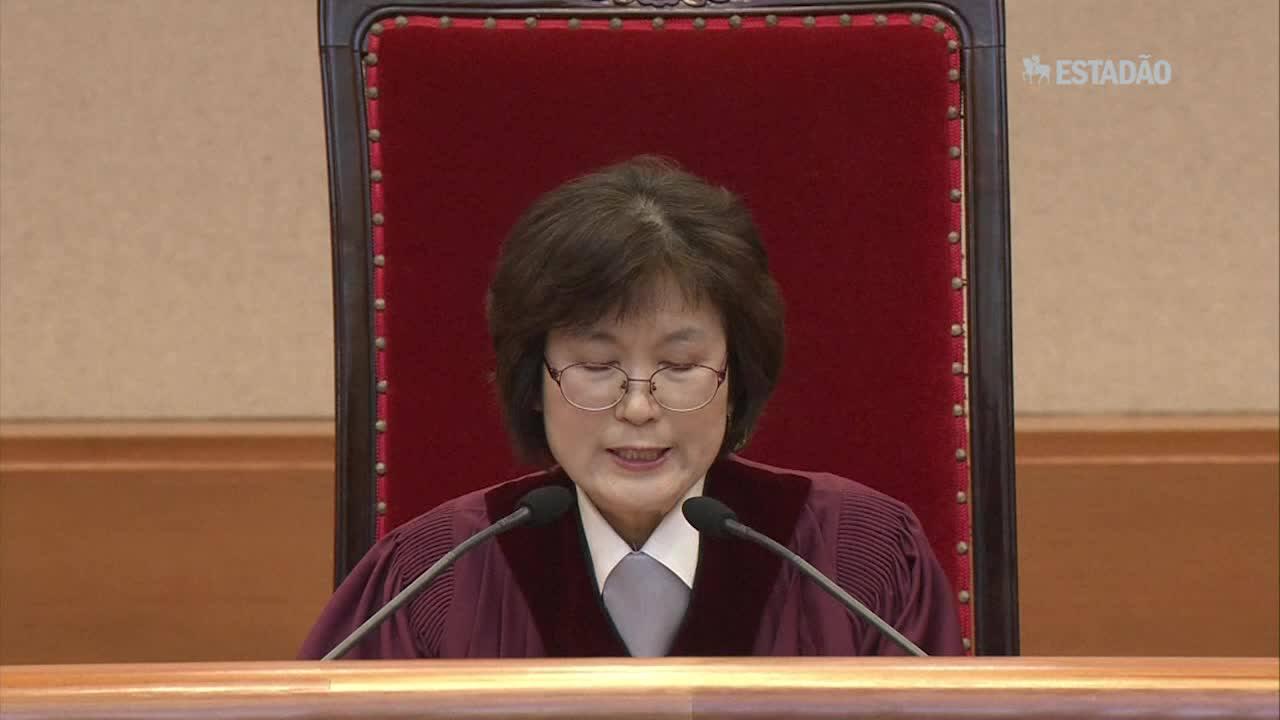 Coreia do Sul confirma destituição da presidente