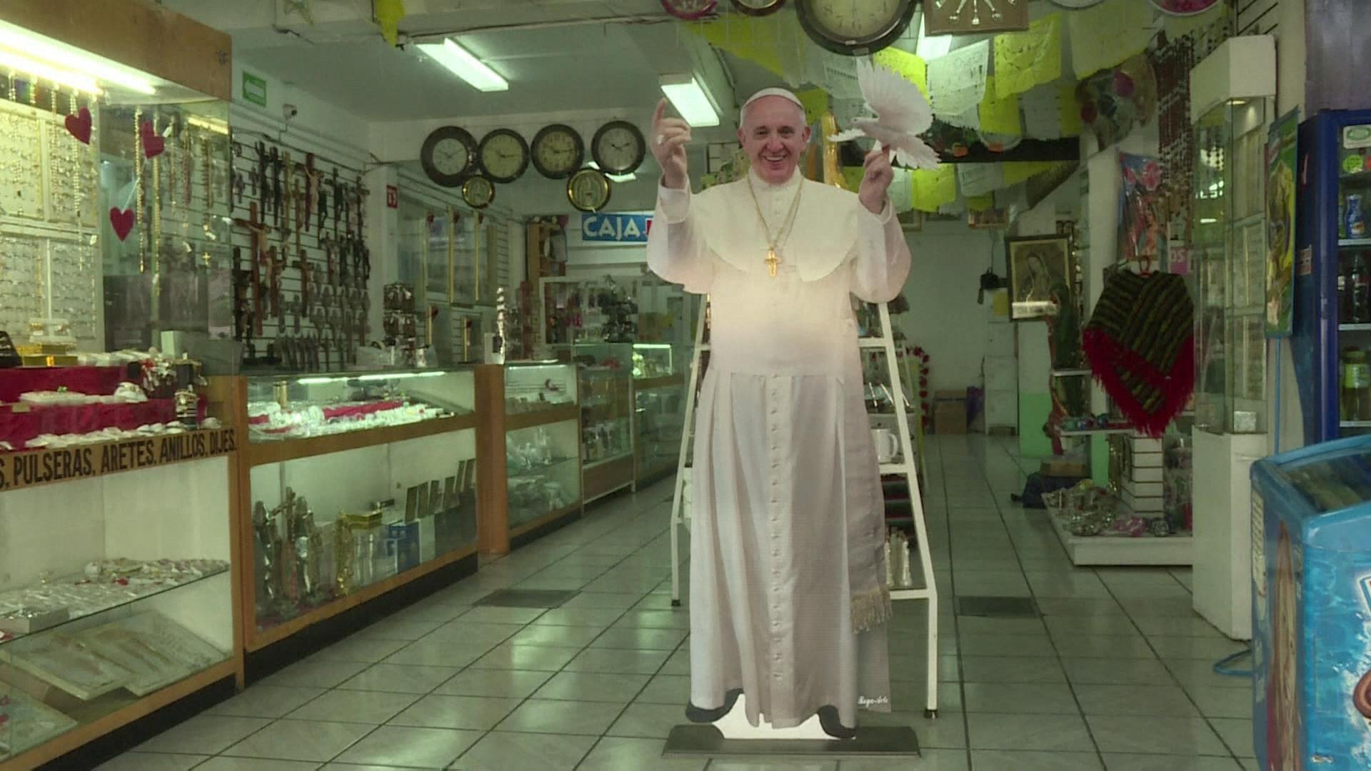 México aguarda chegada do papa