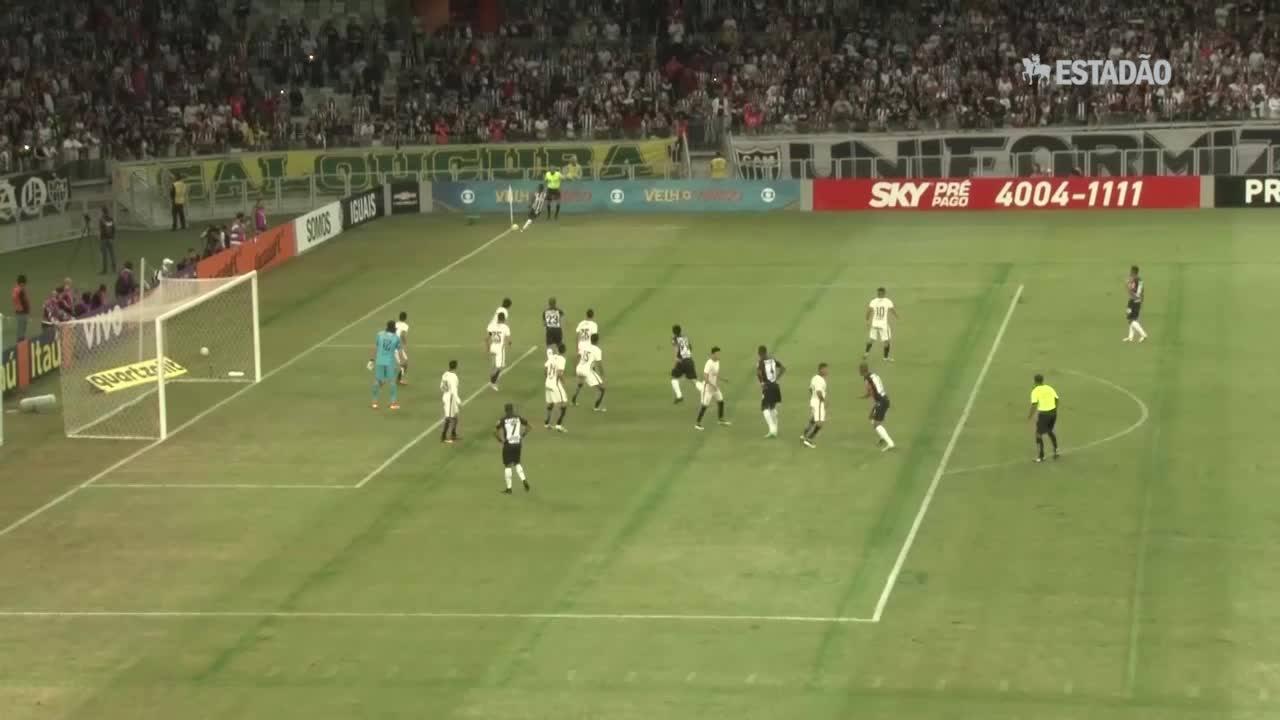 Corinthians perde para o Atlético-MG por 2 a 1