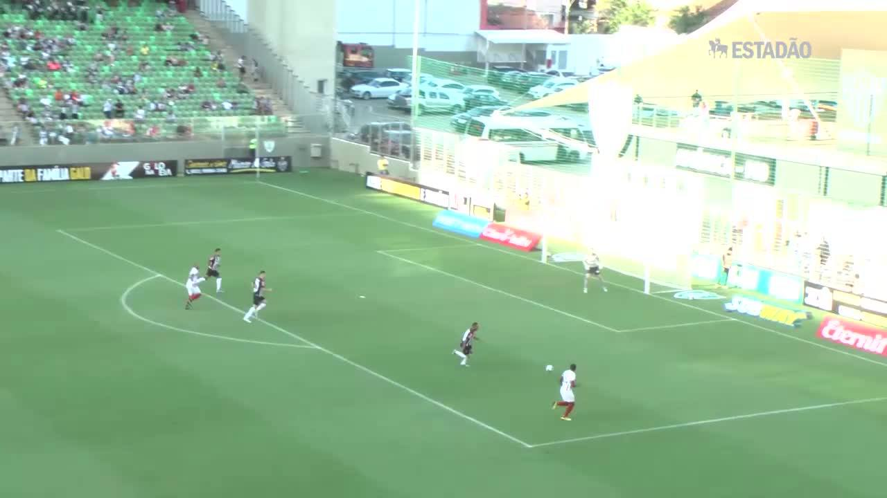 Atlético MG é goleado pelo Tricordiano