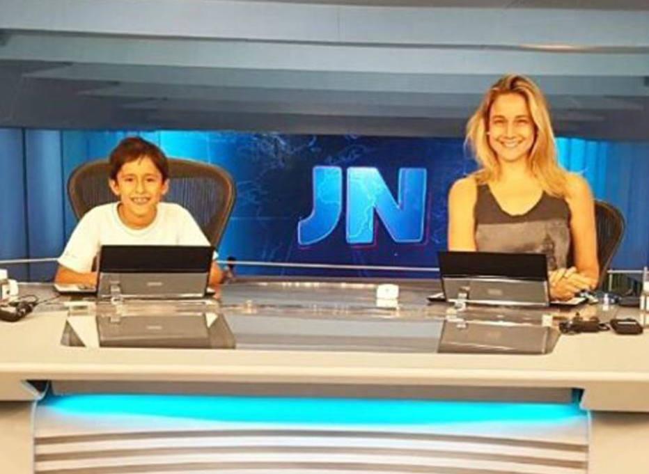 Fernanda Gentil revela como contou sobre a namorada a Lucas, filho mais velho