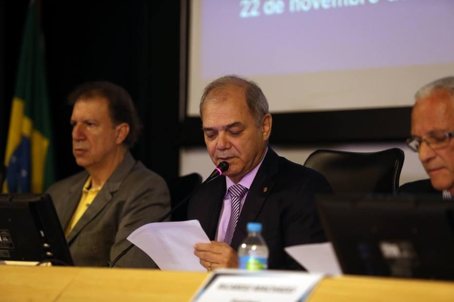 Paulo Wanderley, presidente do COB, participa de Assembleia Geral Extraordinária na entidade.