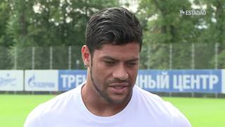 Hulk diz que incidentes racistas na Rússia são uma vergonha