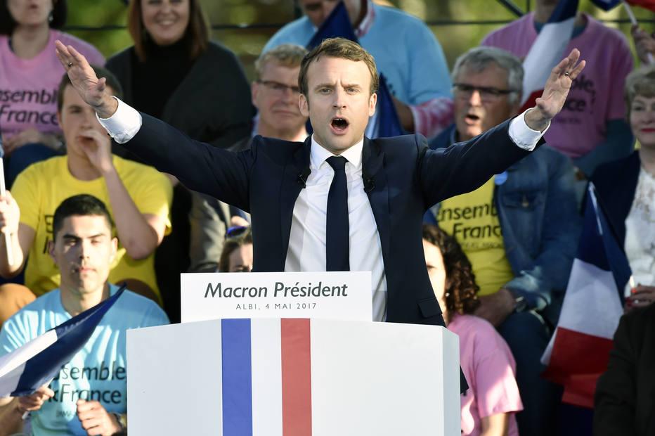 Macron e Le Pen apreciam gastronomia portuguesa — França