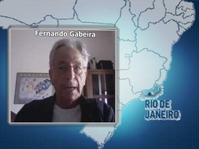"""Fernando Gabeira: """"Crise nos Estados Unidos é pedagógica"""""""