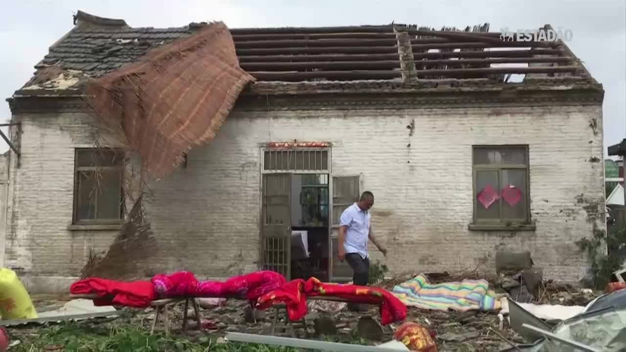 Tornado deixa 98 mortos na China