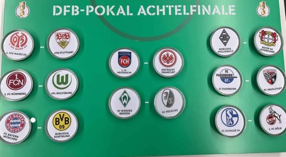 Sorteio define Bayern x Borussia Dortmund nas oitavas da Copa da Alemanha