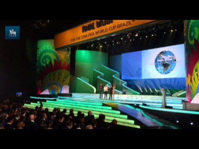 Sem erros, sorteio da Copa mostra Brasil multicultural