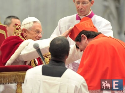 Brasileiro nomeado cardeal