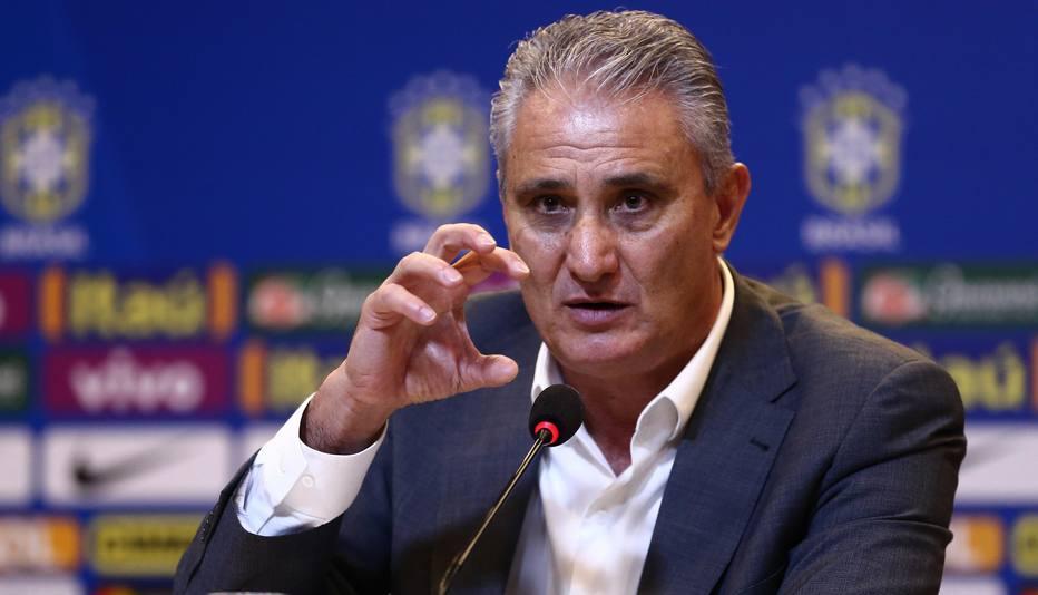 Tite em convocação da seleção brasileira