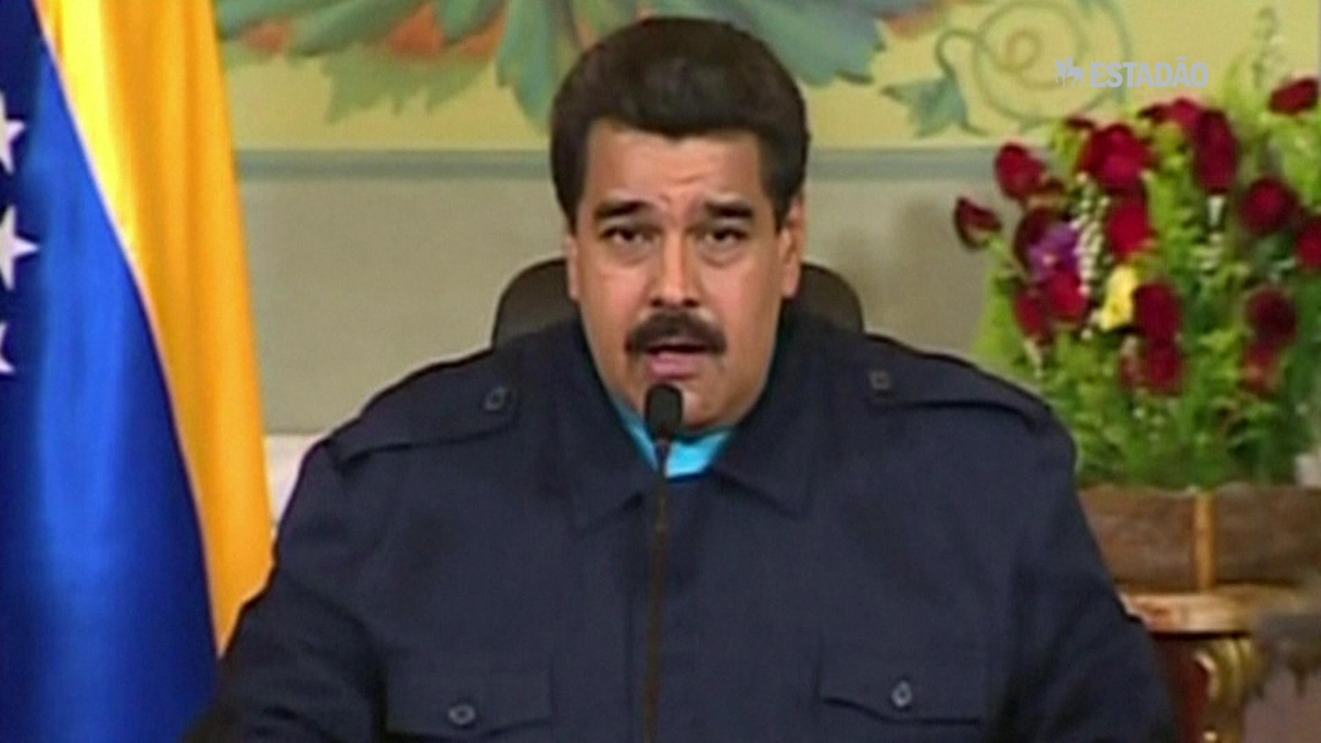 Maduro critica decisão dos EUA