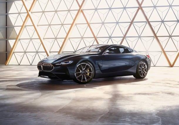 BMW divulga imagem do Concept 8 Series