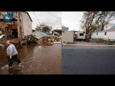 Há um ano, furacão Sandy destruía parte de NY