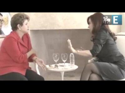 Presidentes Dilma e Cristina reunem-se para aprofundar relação bilateral