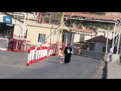 Civis deixam Síria para fugir da guerra