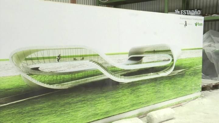 Arquiteto holandês apresenta impressora 3D para construir prédio