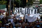 Venezuelanos protestam nesta terça-feira, 7, em Caracas contra a falta de medicamentos e o baixo salário dos profissionais de saúde