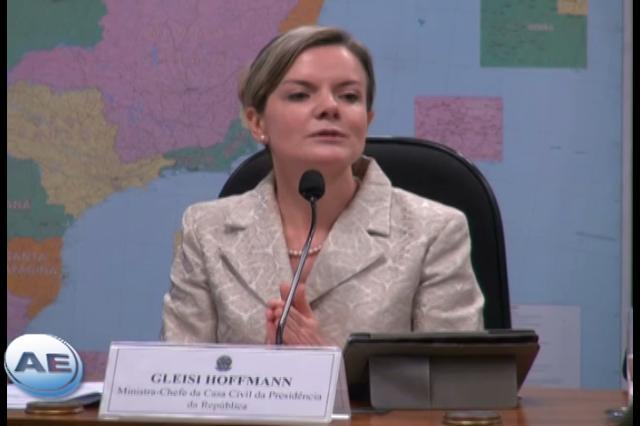 Gleisi Hoffmann analisa desafios e previsões para concessões