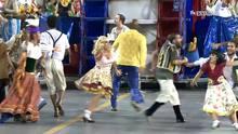 Desfile da Vai-vai no Carnaval 2016